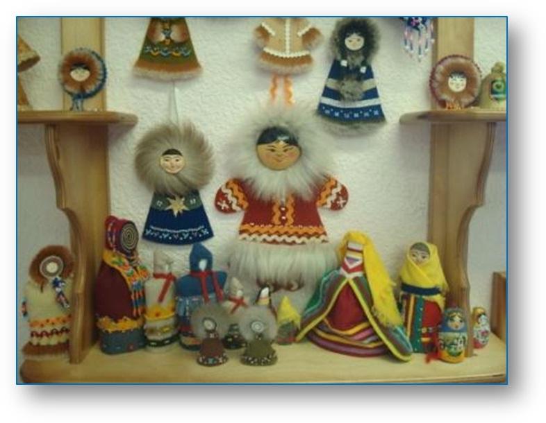 Куклы народов севера ханты и манси